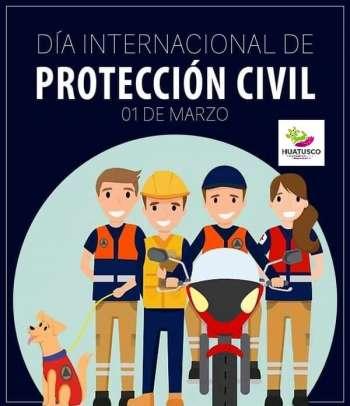 Reconocimiento y felicitación a todos los compañeros que integran la Dirección de Protección Civil Municipal.