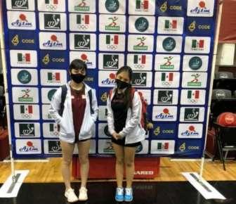 Apoyadas por el IVD, veracruzanas calificaron al Centroamericano Juvenil de Tenis de Mesa 2021