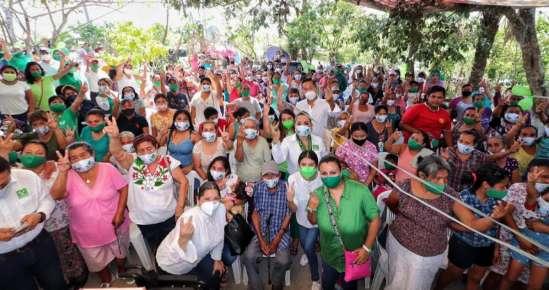 Beto Silva continúa sumando voluntades a su favor en Tuxpan