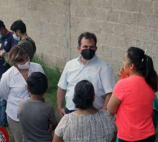 Fortalece Pepe Yunes su presencia en Coatepec