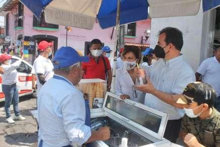 Garantiza Pepe Yunes que haya mayor seguridad en Coatepec