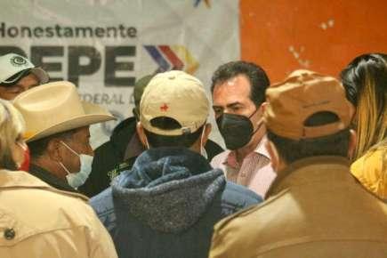 Se reúne Pepe Yunes con Vecinos del Municipio de Tembladeras y así conocer sus Inquietudes