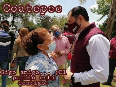 Rigo garantiza responsabilidad y compromiso por Coatepec