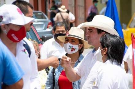 Pepe Yunes Candidato a Diputado Federal del Distrito 09 de Coatepec, presente en Jilotepec