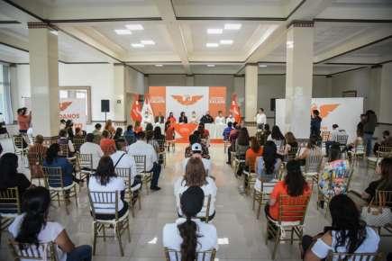 El día de hoy, el candidato a la alcaldía de Coatepec por MC, tuvo agenda llena.