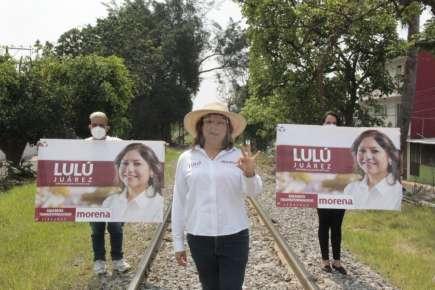Ya nada nos detiene, Lulú Juárez Candidata lleva sus propuestas a los ciudadanos