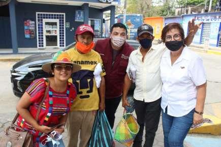 Mago Corro, Juan Javier Gómez Cazarín, Valentín Reyes y Zulema Aguilar, garantizan continuidad de la 4ta. Transformación en beneficio del Distrito XXIII