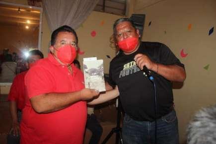Agradece Miguel Sedas Castro recibimiento brindado por el Profr. Ramiro Hernández Rojas