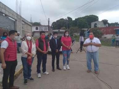 Cariñoso recibimiento para Miguelito Sedas Castro en la colonia Morelos