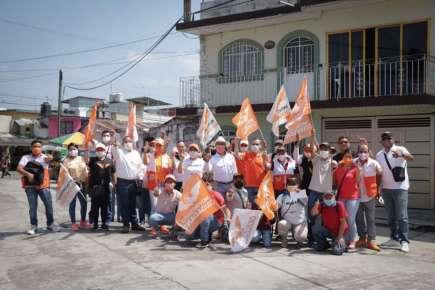 se fortalece Andrés Cuevas Melo en la simpatía de los Coatepecanos