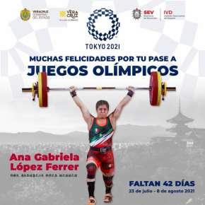 Califica veracruzana Ana Ferrer a Juegos Olímpicos de Tokio 2020