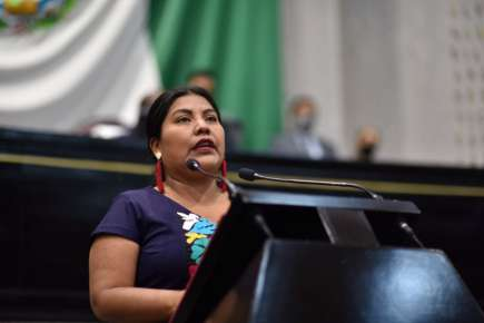 Pide diputada implementación de políticas públicas en favor de pueblos originarios