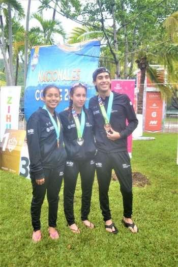 Una plata y dos bronces ensegunda jornada del triatlón