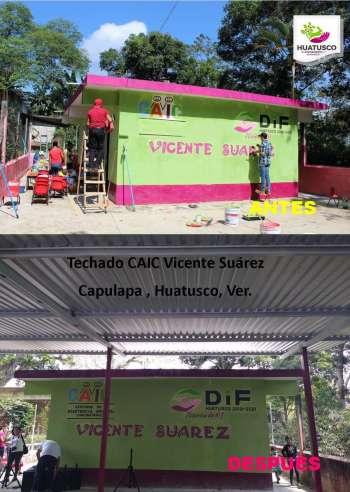 Continúan las obras para Huatusco