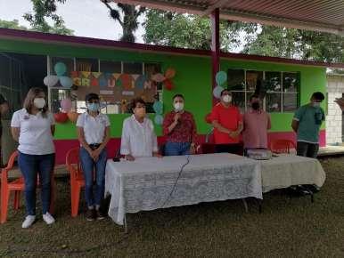Techado para el Jardín de Niños Nueva Creación de San Miguel, Chavaxtla.
