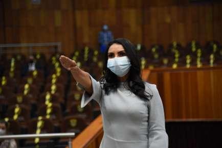 Aprueban a la diputada María Josefina Gamboa separarse del cargo
