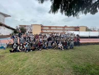 """""""Tequio por mi escuela"""" llega a Técnica 3 con colaboración de SEDESOL"""