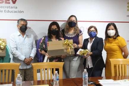 Premian SEV y Nestlé a docentes por inculcar hábitos saludables a estudiantes durante la pandemia.
