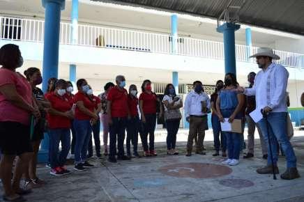 En Poza Rica, IEEV invertirá 19.5 mdp en reconstrucción de seis planteles afectados por el Grace