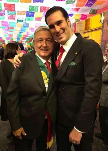 Dip. Miguel Torruco Garza hombre fuerte del Presidente Andrés Manuel López Obrador en el Congreso de la Unión.